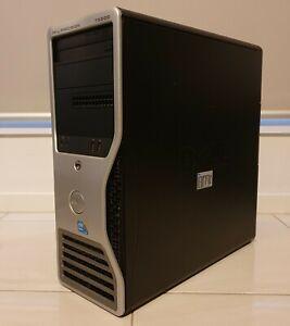 Dell Precision T5500 Xeon X5650 2.66Ghz 16GB Win 10 Tower + nVidia Quadro FX580
