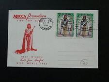 Miss World 1963 FDC Jamaica 68793
