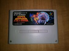 Super Metroid SFC Nintendo Super Famicom SNES Japan Import US Seller SHIP FAST