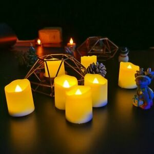 Candle Light Remote Control Modern Design Flameless Wedding Home Decoration Tea