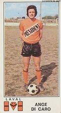 N°071 ANGE DI CARO # STADE LAVALLOIS STICKER PANINI FOOTBALL 1977