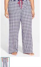 Make+Model flannel pajama bottoms plus Size 3x New