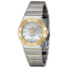 Omega Constellation Silver Dial Ladies Watch 12320276002002