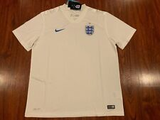 2014 World Cup Nike Men's England Home Soccer Jersey Extra Large XL 3 Lions