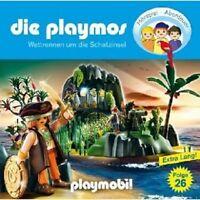 DIE PLAYMOS (26): WETTRENNEN UM DIE SCHATZINSEL CD NEU