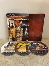2K Rogues and Outlaws Collection PlayStation 3 PS3 Spec Ops The Line Mafia 2 II