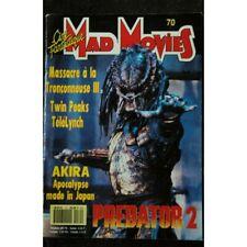 Ciné Fantastique MAD MOVIES n° 70 * 1991 * PREDATOR 2 Massacre à la troçonne