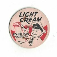 Milk Bottle Cap Light Cream Sealon Hood Protected Milk Cap