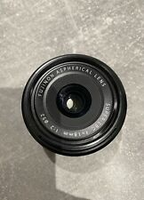 Fujifilm FUJINON XF 18mm f/2 R Aspherical Lens PRISTINE CONDITION