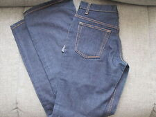 "WOMENS DARK BLUE D & G JEANS SLIGHT FLARE BOTTOMS W44 L32 (W30"") UK 8 BNWT"