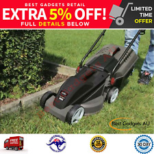 1000W Ecomow Electric Lawn Mower Lawnmower Grass Catcher Garden Outdoor