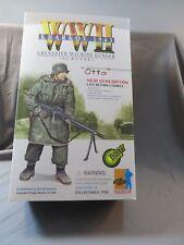 """Dragon 1/6 WWII Kharkov 1943 Grenadier Machine Gunner Otto 12"""""""