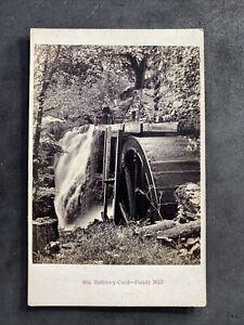 Victorian Carte De Visite CDV: Rare Scene: Bettws-y-coed - Pandy Mill