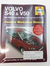 Volvo S40 & V50 Haynes Service and Repair Manual 2004-2007 Petrol & Diesel