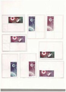 s15009) SPACE 1963  MNH** Vietnam 8v (4v Imperforated)
