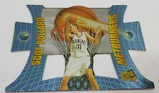 1997 NETBURNERS PRESS PASS SCOT POLLARD #NB5 KANSAS BASKETBALL CARD