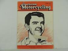 Vintage Dec 1954 American Motorcycling Magazine Indian Trailblazer Triumph L5812