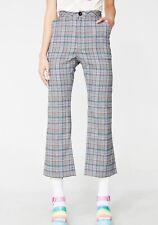 lazy oaf plaid trousers