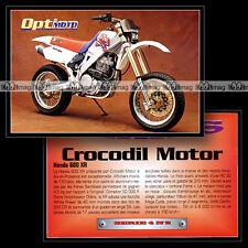 HONDA XR 600 'CROCODIL MOTOR' - Trail Bike Fiche Moto #OM4.2