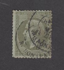 France -Timbres oblitérés - N°19 - 1c olive - 1862