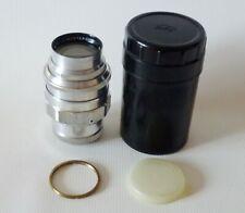 Jupiter-11 4/135 silver lens for SLR cameras M39-M42 mount USSR KOMZ+М42 adapter