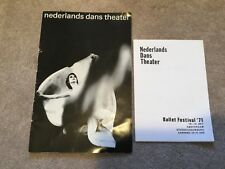Nederland Dans Theater Souvenir Program - Ballet Festival '71 Program Amsterdam