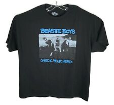 Beastie Boys Check Your Head T Shirt Band Tee Black Size 2XL