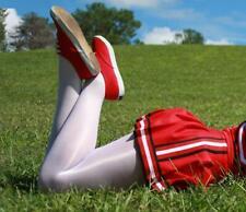 danza 70 den CALZE COLLANT shiny glanz PROFESSIONALE PANTYHOSE cheerleader WHITE