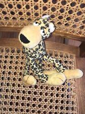 "Peponi Posers Plush Cheetah 9"" Tall Lester"