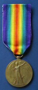 WW1 Victory Medal T-276989 DVR C.T. SMITH A.S.C. *[15278]