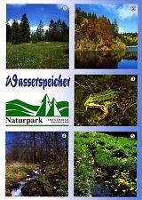 Wasserspeicher , Naturpark Erzgebirge ,Ansichtskarte, ungelaufen