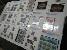 Nystamps Canada much mint Nh stamp collection Album page high face value