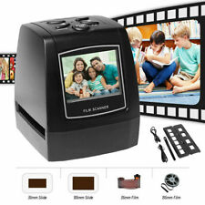 LCD Digital Negative Film Slide Photo Scanner Converter to JPEG 35mm/135mm Black