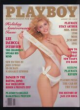 Complete 1991 Playboy Magazines Stephanie Seymour Julie Clarke Lingerie Pictoria