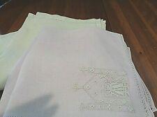 Collection of 13 Antique/Vintage napkins 2 sets