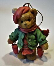 "Cherished Teddies ""Bear With Dangling Mittens"" #17776 Enesco"