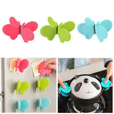 Convenient Butterfly Shaped Silicone Anti-scald Devices Kitchen Portable Tool