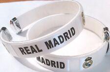 NEW! Real Madrid 2018 Football Soccer Team Wristband Wristlet Bracelet