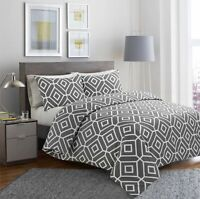 Luxuary 100% Egyptian Cotton Printed Duvet Cover Sets Bedding Set All Sizes