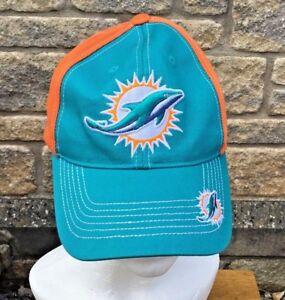 * MIAMI DOLPHINS * NFL Football Team Apparel Adjustable Baseball Cap  Unworn