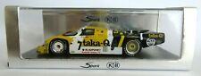 "Porsche 956 #7 Le Mans LM 1986 1/43 Spark KBS005 Ludwig / Barilla / ""Winter""."