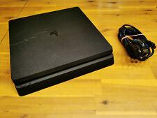 SONY PLAYSTATION 4 slim 1TB ► PS4 schwarz 1000GB ◄ GUTER ZUSTAND