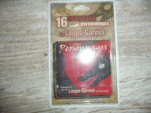 """Jeu de cartes extension N°3 """" les Loups-Garous de thiercelieux """" neuf"""