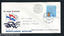 Ned. Antillen FDC E33_ 3M, met adres, Curacao ;