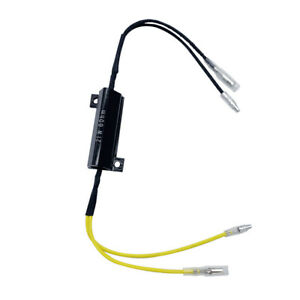 LED Load Resistor Decoder Motorcycle Turn Signal Indicator LED Load Resistor 21W