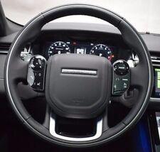 Range Rover Velar L560 L405 L494 Ebony Heated Steering Wheel With Chrome Anello