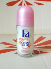 Fa Natural & Pure Rose Blossom Fragrance Roll on Deodorant 48 hrs protection