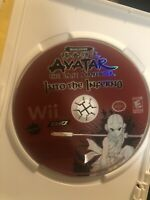 Avatar: The Last Airbender - Into the Inferno (Nintendo Wii, 2008) Disc Only