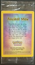Carte Pokémon Mew Antique / Ancient Mew Promo Wizards Holo Scellé Scelled...