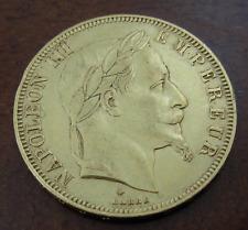 Francia 1866A Oro 50 Franchi Au Napoleone III Laureato Testa